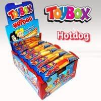 TOYBOX GUMMY HOTDOG x24